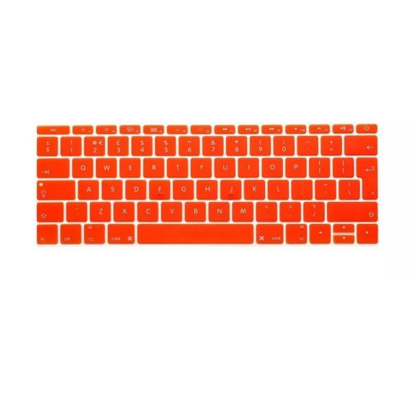 """MacBook Tastatur Cover 13"""" / 15"""" / 17"""" - Orange"""