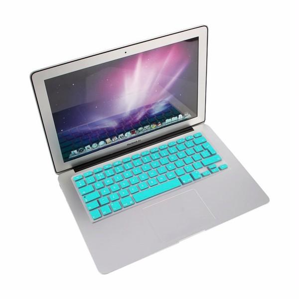 """MacBook Tastatur Cover 13"""" / 15"""" / 17"""" - Eisblau"""