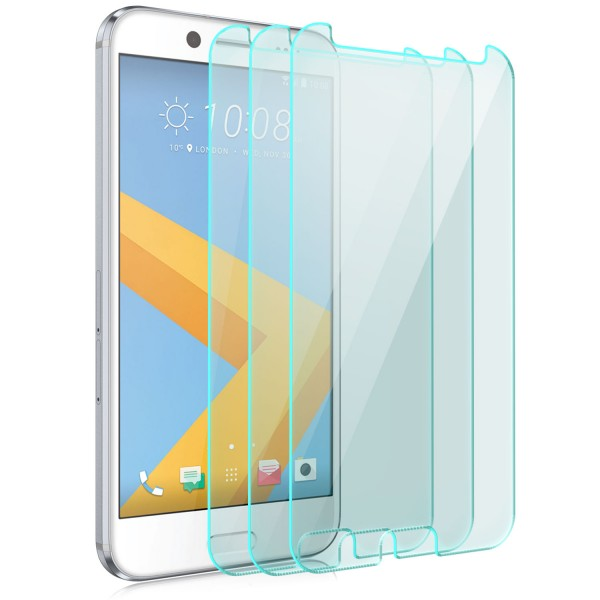 3x Displayschutzglas für HTC 10 EVO