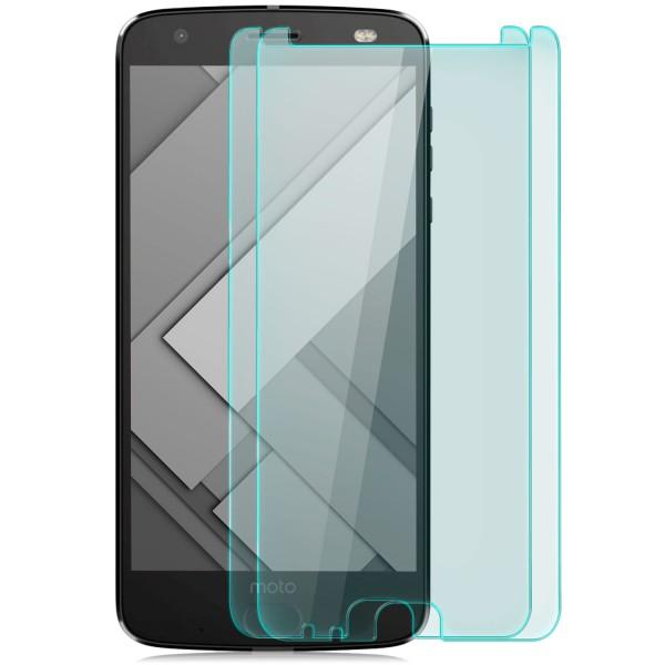 2x Displayschutzglas für Lenovo Motorola Moto Z2 Force