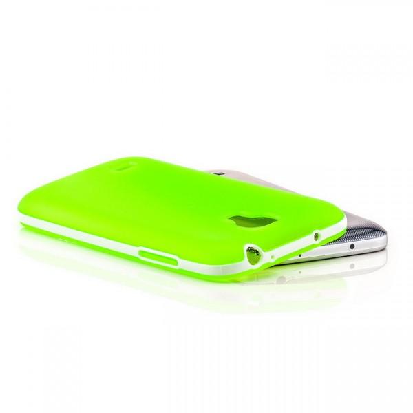 Silikon Back Cover für Samsung Galaxy S4 Mini Grün