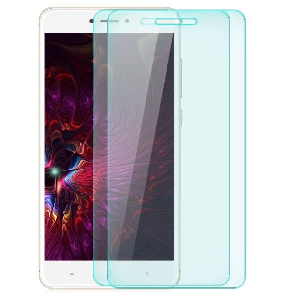 2x Displayschutzglas für Xiaomi Redmi Note 4 / 4X