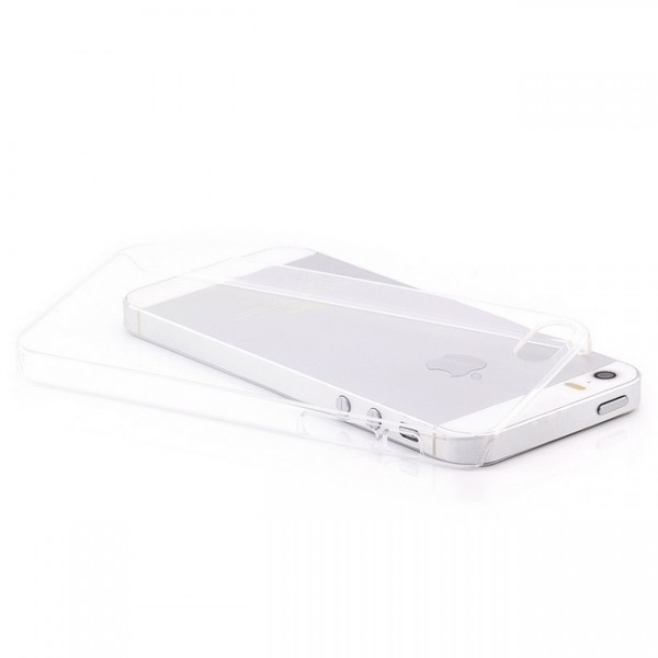 Ultra Slim Back Cover für Apple iPhone 5 & 5S Transparent