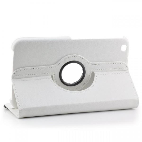 360° Tasche für Samsung Galaxy Tab 3 8.0 Weiß