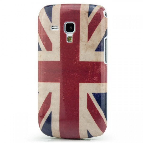 Union Jack Retro Cover für Samsung Galaxy S Duos
