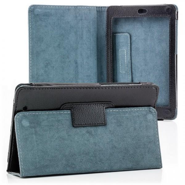 Skin-Style Tasche für Asus Google Nexus 7 Schwarz