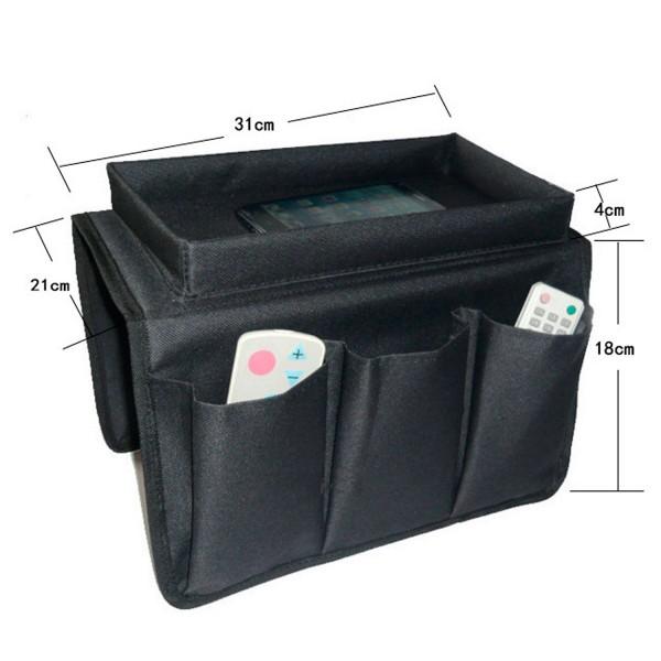 Sessel Organizer für Fernbedienung Zeitung mit 5 Taschen