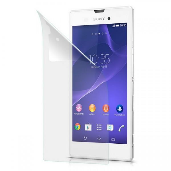 Displayschutzfolie matt für Sony Xperia T3