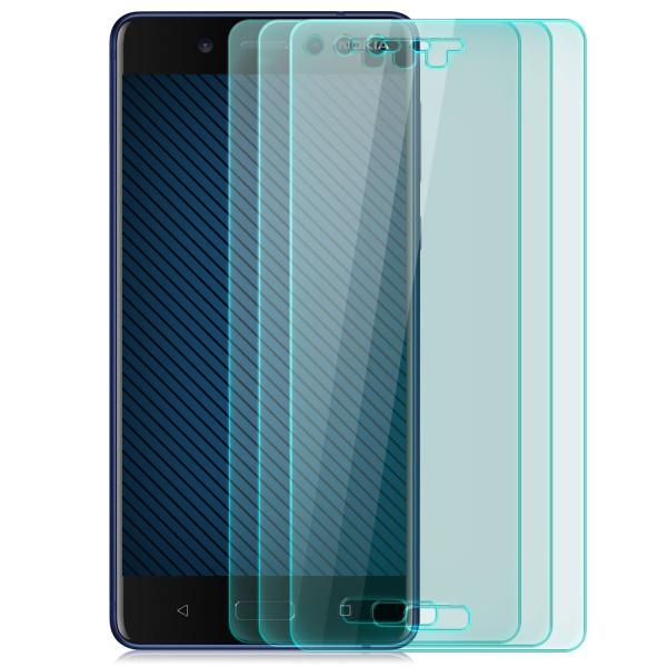 3x Displayschutzglas für Nokia 8