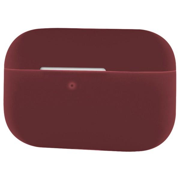 Silikon Case für Apple AirPods Pro - Schutzhülle Schale Hülle - Weinrot