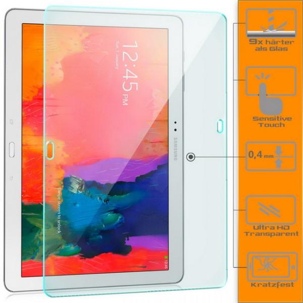 2x Displayschutzglas für Samsung Galaxy NotePRO 12.2 Schutzfolie Glasfolie