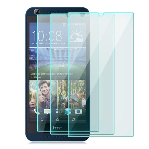 3x Displayschutzglas für HTC Desire 626G