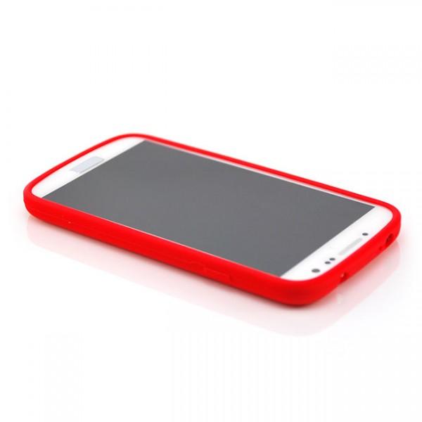 Silikon Case für Samsung Galaxy S4 Rot