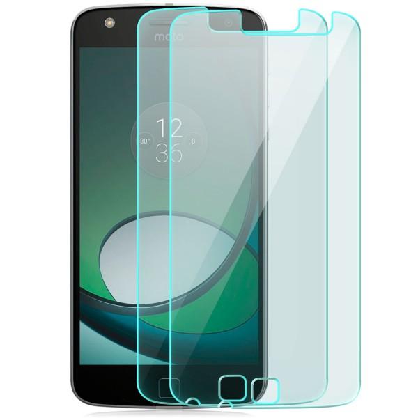 2x Displayschutzglas für Lenovo Motorola Moto Z Play