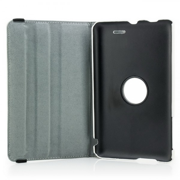 360° Tasche für Asus MeMo Pad 7 Weiß