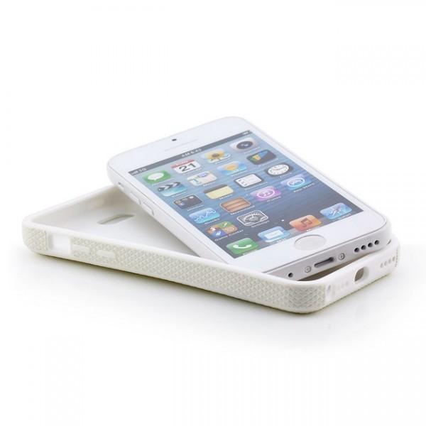 Ball Style Case für Apple iPhone 5C Weiß