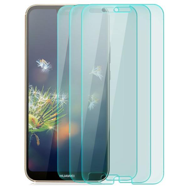 3x Curved Displayschutzglas für Huawei P20 Pro - Transparent
