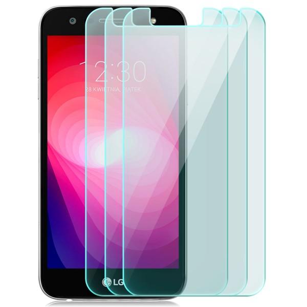 3x Displayschutzglas für LG X power 2