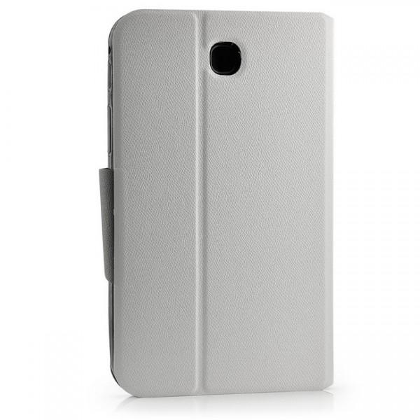 Dual Colours Tasche für Samsung Galaxy Tab 3 7.0 Weiß-Schwarz