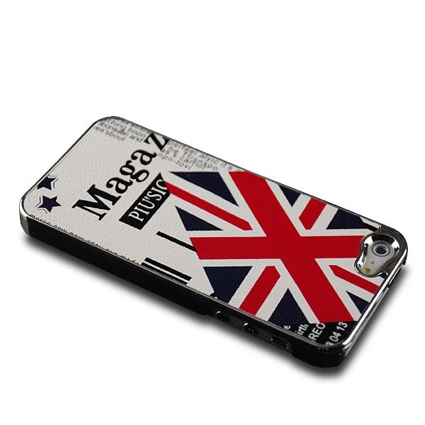 Union Jack Back Cover für Apple iPhone 5 & 5S