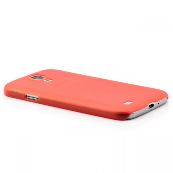 Ultra Slim Back Cover für Samsung Galaxy S4 Rot