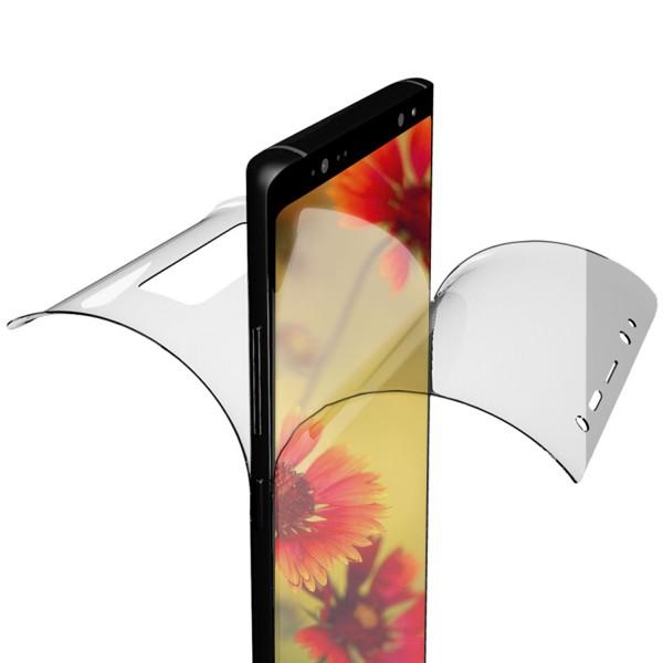 2x Hydrogel Vorderseite + Rückseite Folie für Samsung Galaxy S9