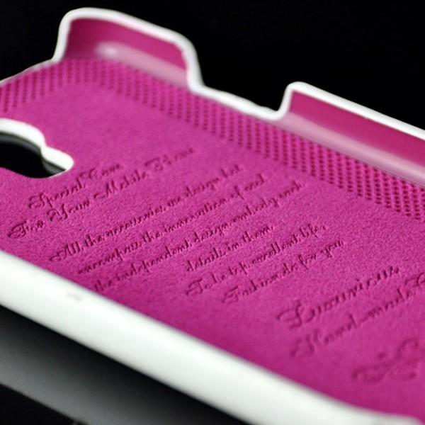Business Flip Case für Samsung Galaxy S4 Weiß