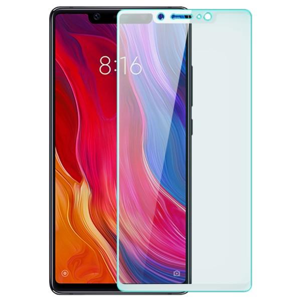 Full Cover Displayschutzglas für Xiaomi Mi 8 SE - Weiß