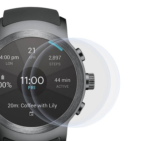 2x Displayschutzfolie für LG Watch R (W110)