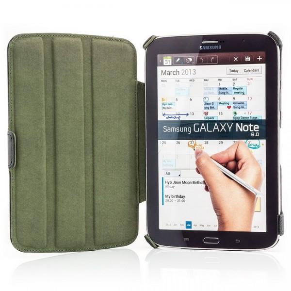 Schutz Tasche für Samsung Galaxy Note 8 Schwarz