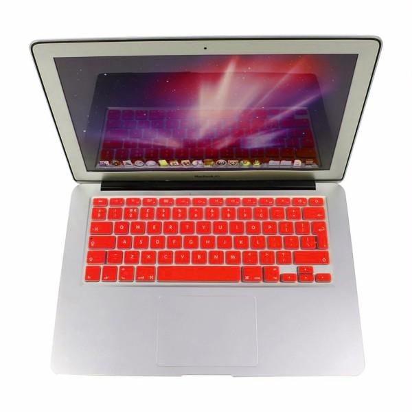 """MacBook Tastatur Cover 13"""" / 15"""" / 17"""" - Rot"""