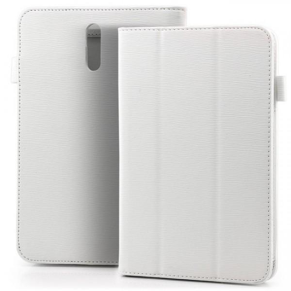 Tablet Tasche für Huawei MediaPad 7 Vogue Weiss