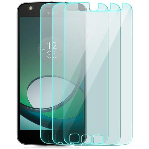 3x Displayschutzglas für Lenovo Motorola Moto Z Play
