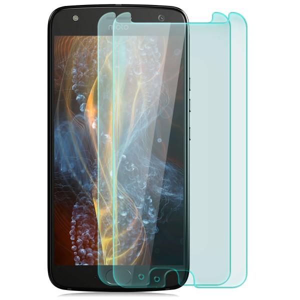 2x Displayschutzglas für Lenovo Motorola Moto X4