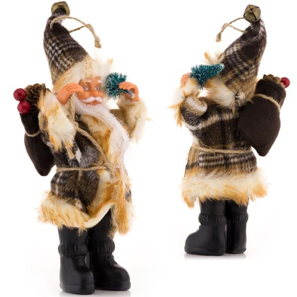 Weihnachtsmann Figur - Braun