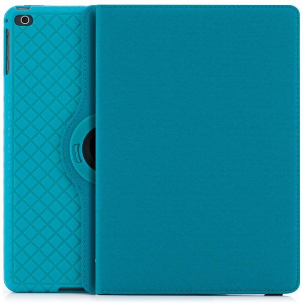 360° Tablet Tasche für Apple iPad (2017) - Türkis