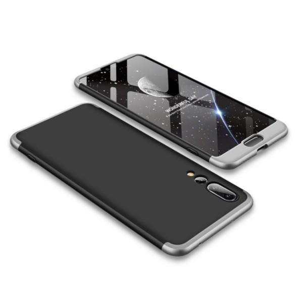 GKK Hülle für Huawei P20 Pro - Schwarz-Silber