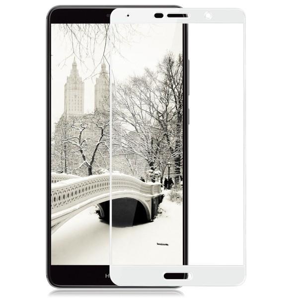 Full Cover Displayschutzglas für Huawei Mate 10 - Weiß