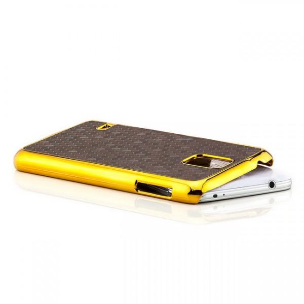 Cells Back Cover für Samsung Galaxy S5 Dunkelbraun