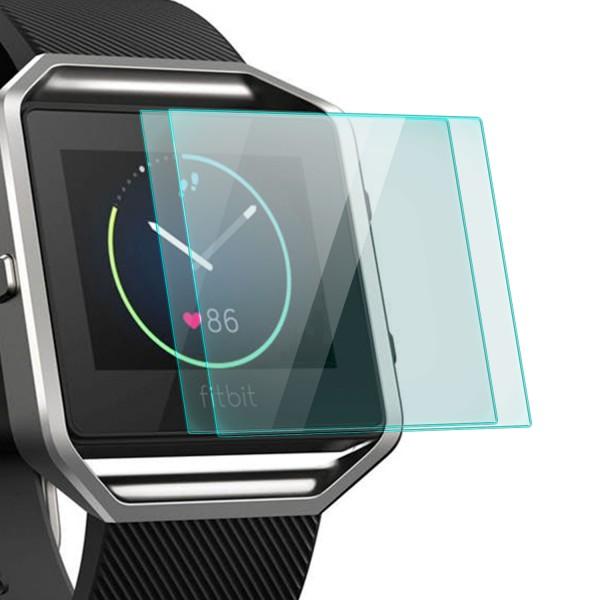 2x Displayschutzglas für Fitbit Blaze