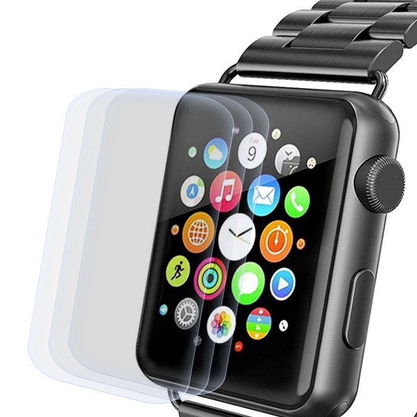 3x Displayschutzfolie für Apple Watch 42mm