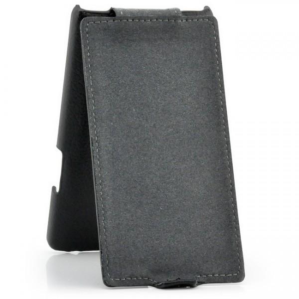 Flip Case für LG Optimus L9 P760 Schwarz