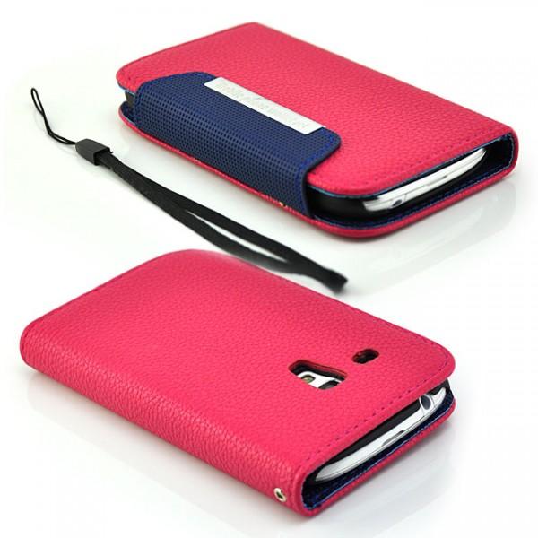 Mobile Set Tasche für Samsung i8190 Galaxy S3 Mini Pink