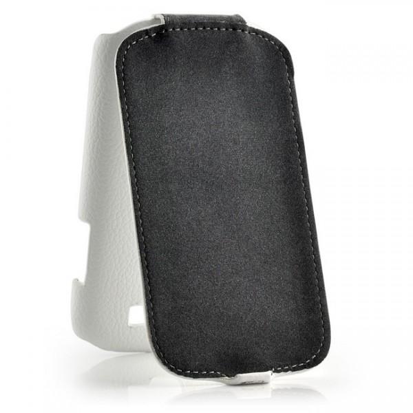 Slim Flip Case für Samsung Galaxy Express Weiß