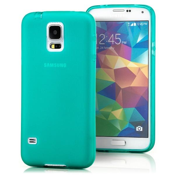 Silikon Case für Samsung Galaxy S5 Grün