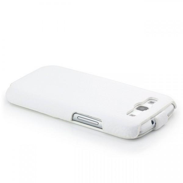 Slim Flip Case für Samsung Galaxy S3 Weiß