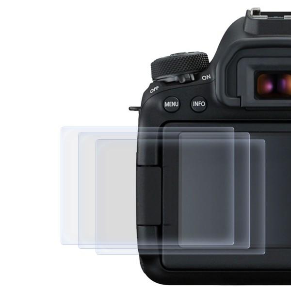 3x Displayschutzfolie für Canon EOS 6D Mark 2