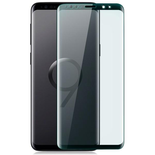 Curved Displayschutzglas für Samsung Galaxy S9 Plus - Schwarz