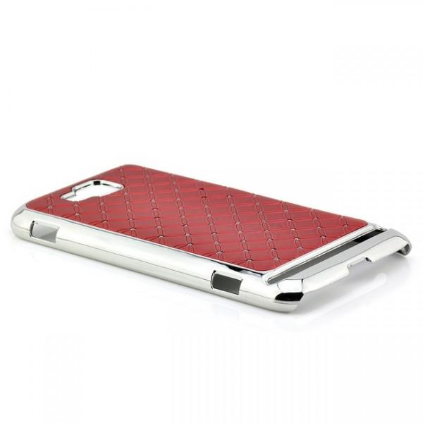 Bling Back Cover für Samsung Ativ S Rot
