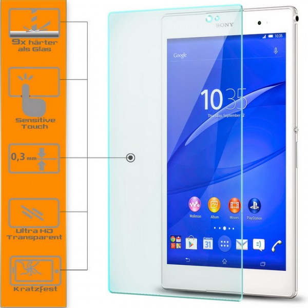 Displayschutzglas für Sony Xperia Tablet Z3 Compact